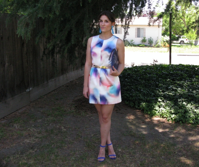 watercolor dress 5