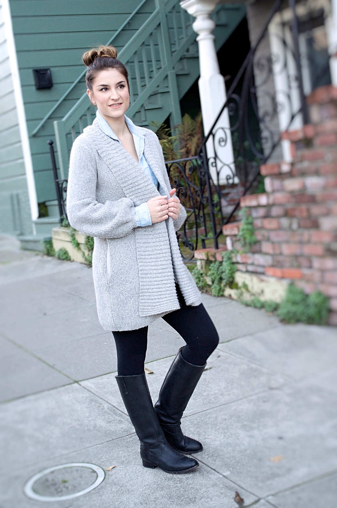 chambray-and-sweater