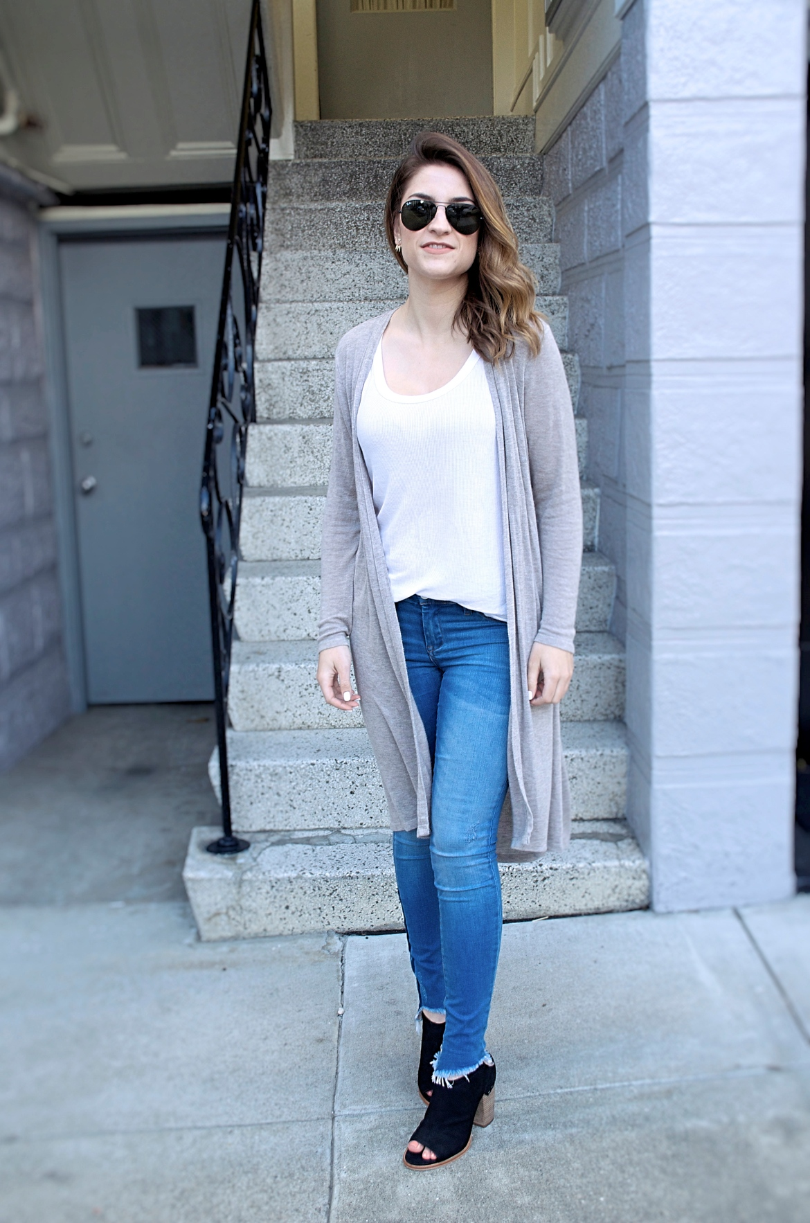 HOW TO STYLE A DUSTER CARDIGAN – Blushing Dahlia